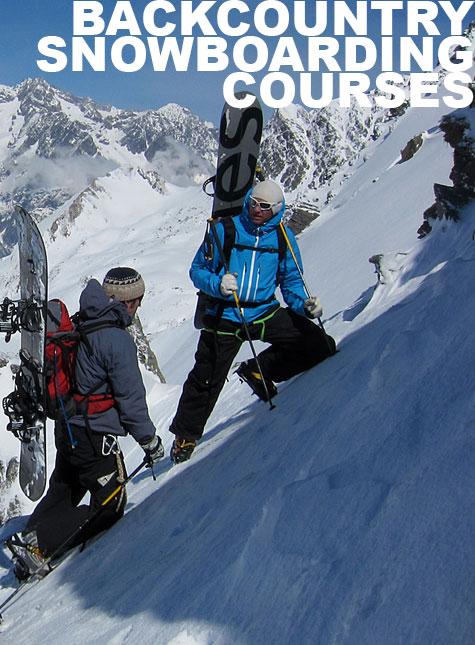 Backcountry Snowboarding Courses