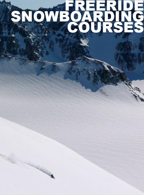 Freeride Snowboarding Courses