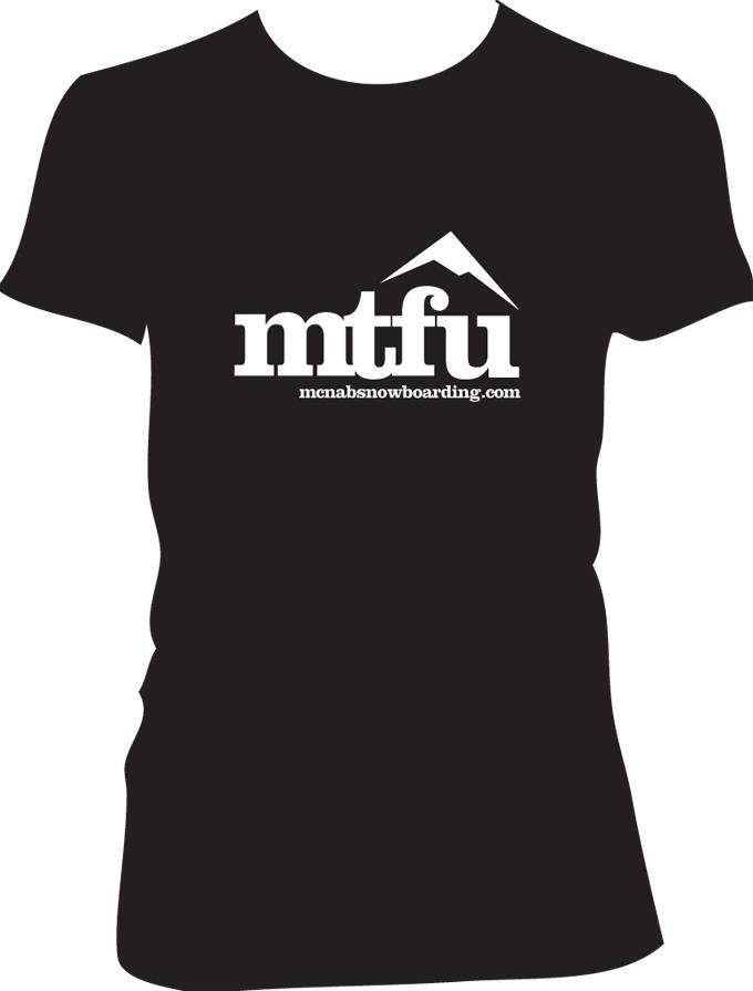 mtfu-Backcountry Tee