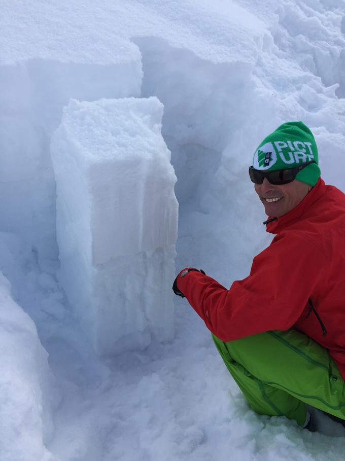 avalanche-pit