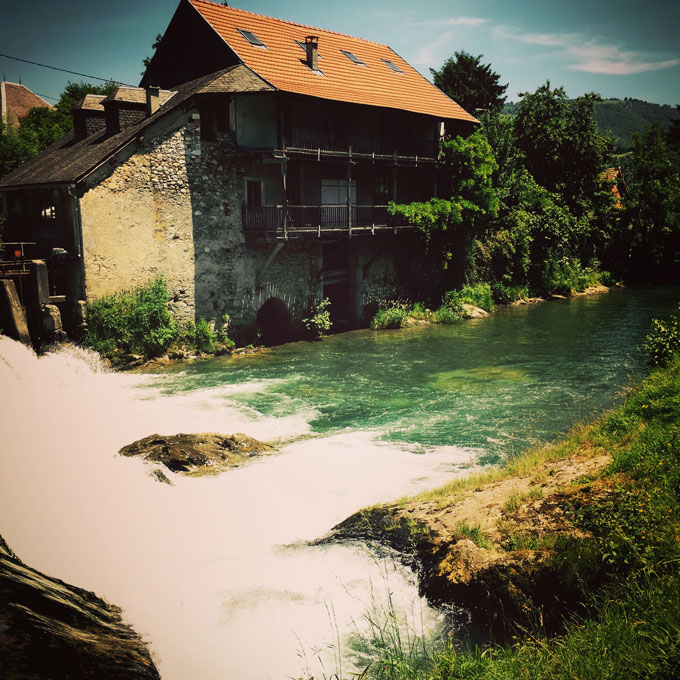 Pyrenees-watermill